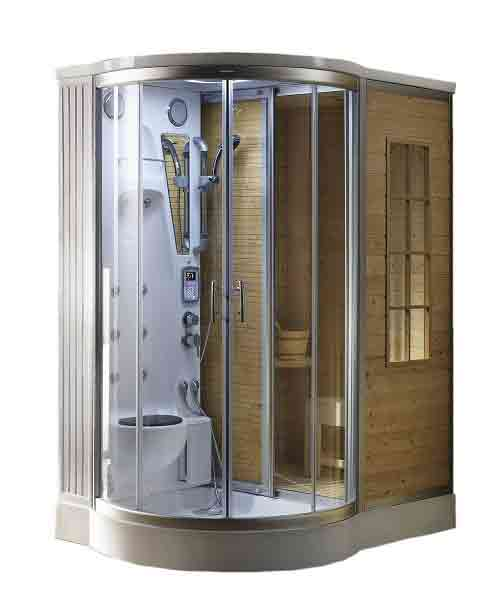 Steam Sauna Combination Home Room Spa Shower