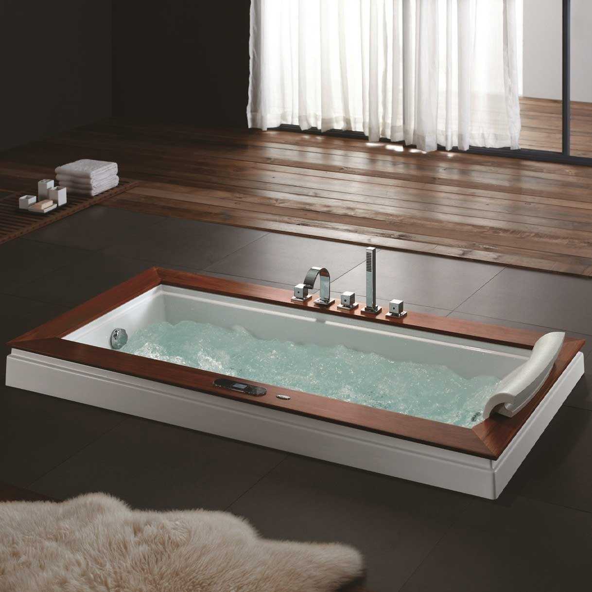 Santa barbara whirlpool tub - Bathtub in shower ...