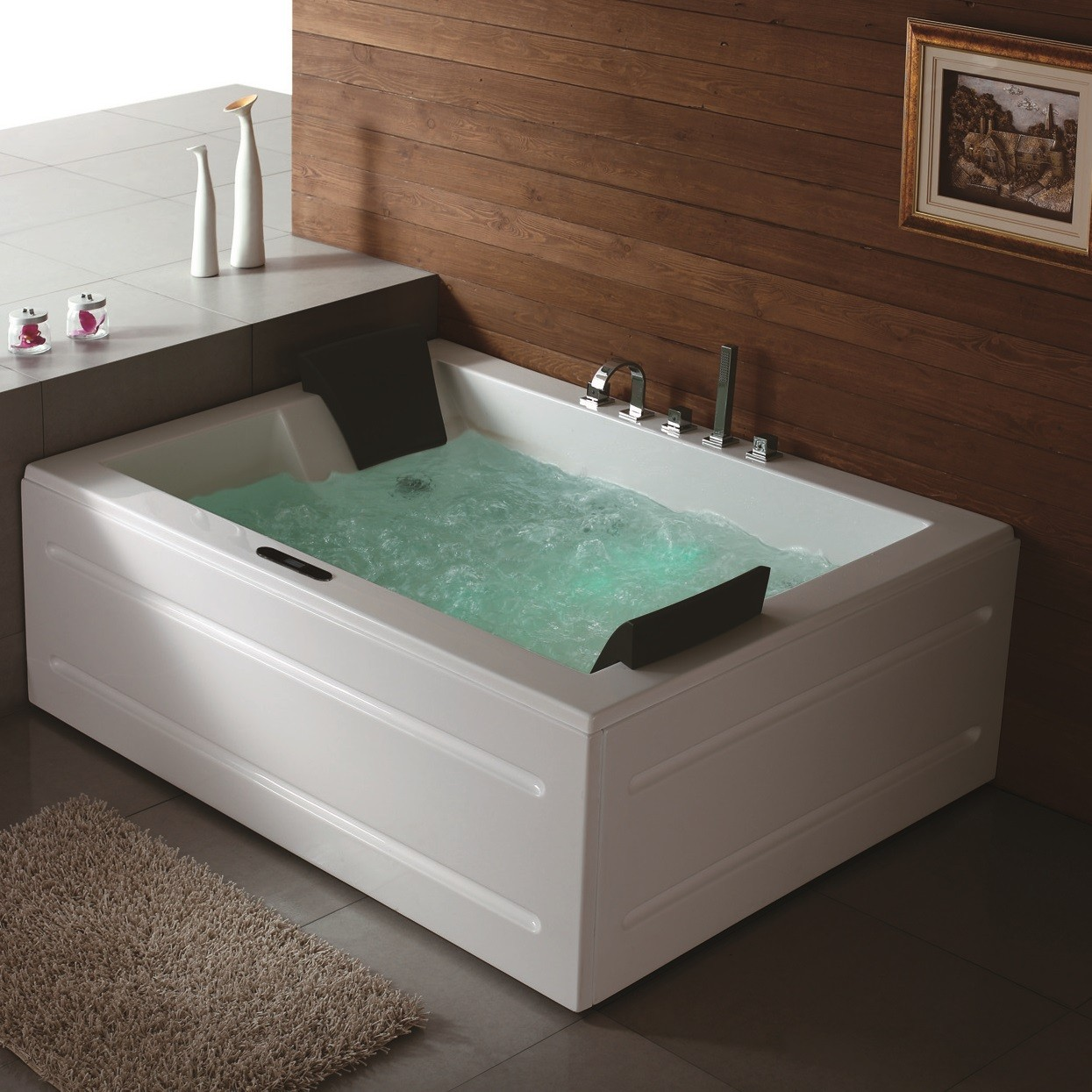 whirlpool tub. Astoria Luxury Whirlpool Tub