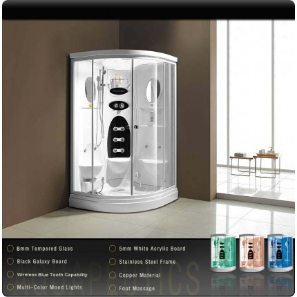 Ontario Luxury Steam Shower