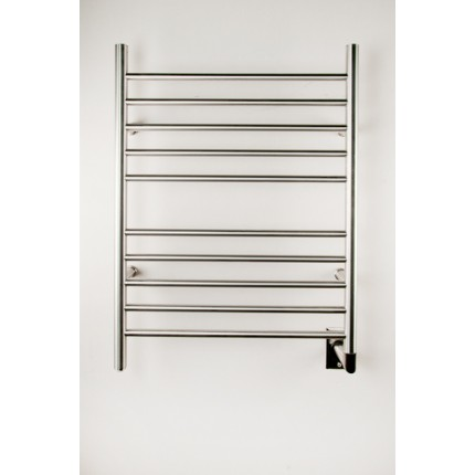 "Amba Radiant Straight Hardwired Mounted Towel Warmers - 23.75""w x 31.5""h"