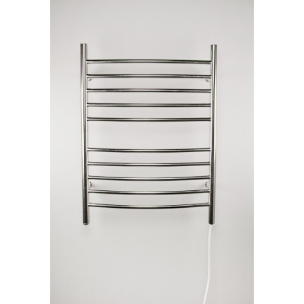 "Amba Radiant Curved Plug In Mounted Towel Warmers - 23.75""w x 31.5""h"