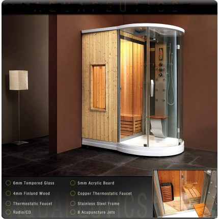 Steam Shower Enclosures | Home Steam Room | Steam Spa Shower Kit ...