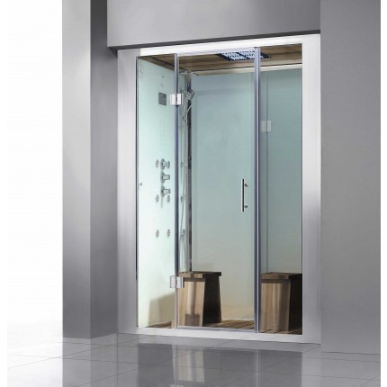 White Brunswick Luxury Steam Shower