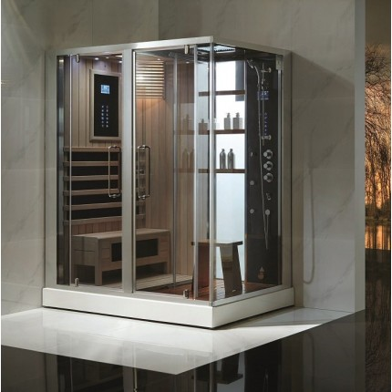 Steam Sauna Combination Home Steam Room Steam Spa Shower Kit