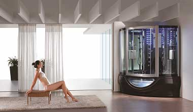 Luxury Showers aquapeutics - luxury bathroom steam sauna showers - palmer, usa